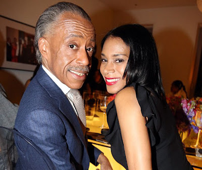 Al Sharpton With Girlfriend Aisha McShaw