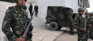 Kasserine: 12 individus arrêtés après l'attaque d'un convoi militaire