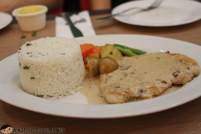 Chicken Marsala of Gotti's Ristorante