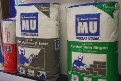 harga semen instan mortar utama