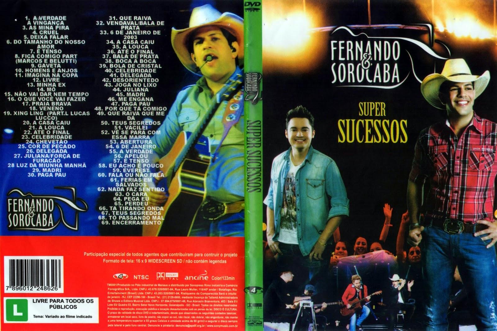 DVD Fernando & Sorocaba – Super Sucessos (2015)