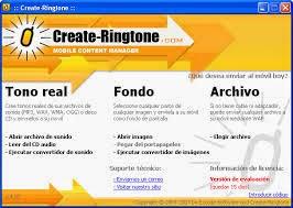 Create Ringtone