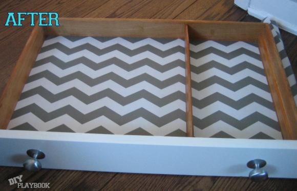DIY Shelf Liner