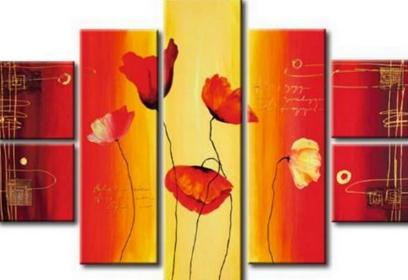 Im genes arte pinturas cuadros abstractos modernos - Cuadros con relieve modernos ...