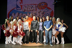 Drexler and NBA Madness Dancers