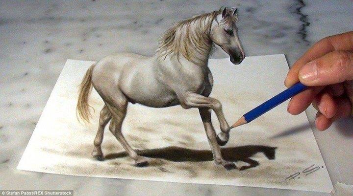 gambar-3dimensi-kuda
