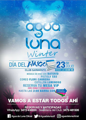 """ESPACIO PUBLICITARIO: AGUA DE LUNA """"INVIERNO 2016"""""""
