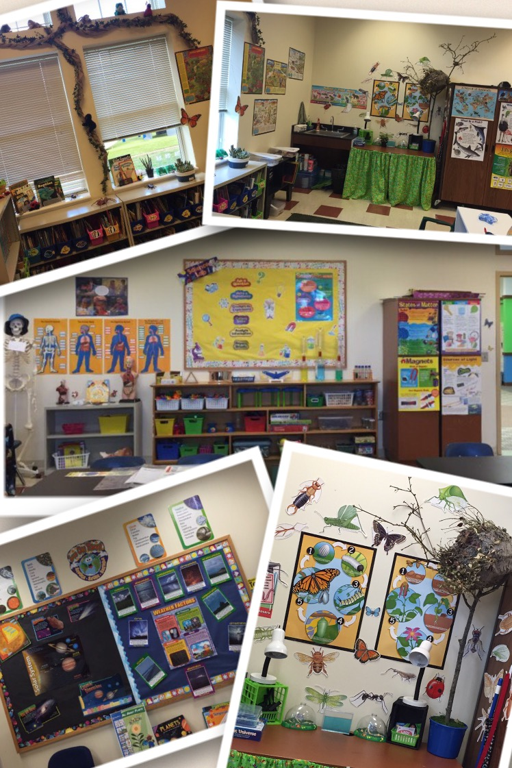 A Peek Inside Our Classroom