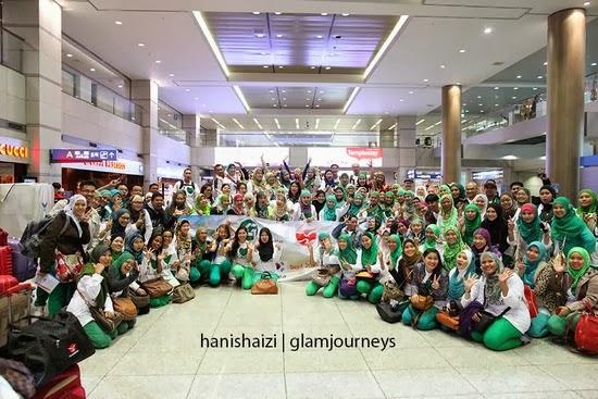Green Leaders Academy Malaysia going to Seoul Korea