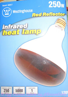 250 watt heat lamp bulb
