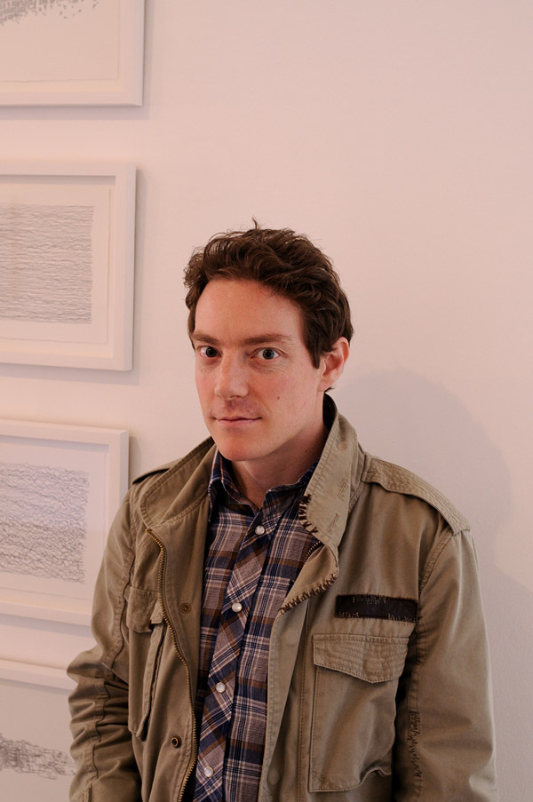 Artist portrait, Richard Briggs - James Dorahy Project Space