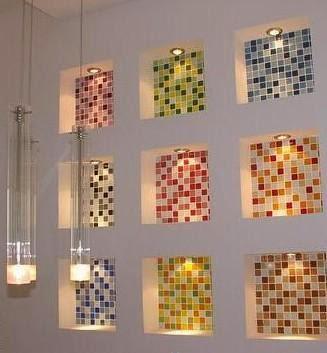 Foundation Dezin Decor Crystal tiles for Interiors