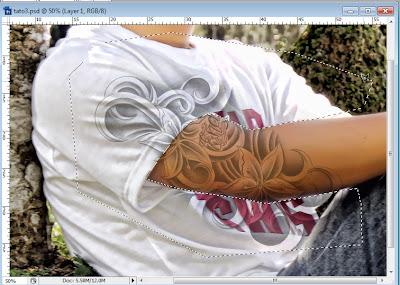 tato7 Membuat Tato warna hitam dengan photoshop