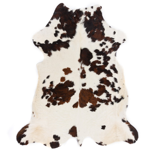 Cosasmias tienda online alfombra piel vaca marr n y blanco - Alfombra piel vaca ...
