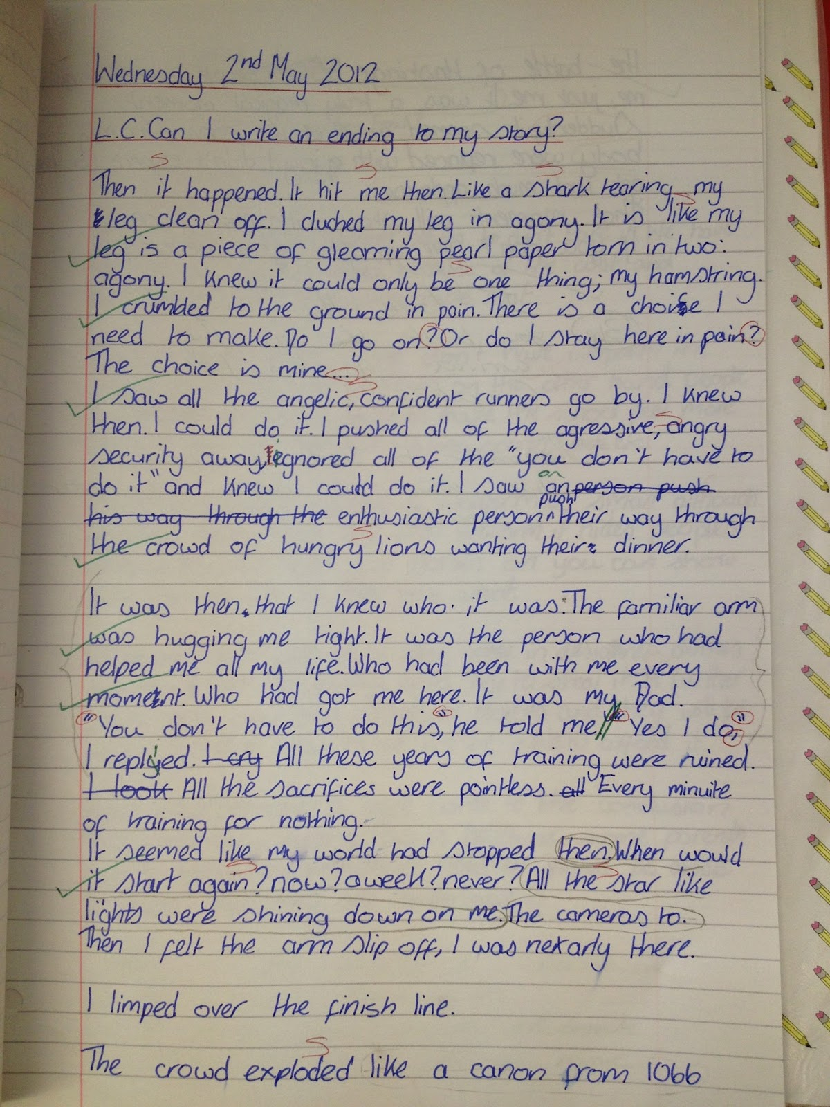 Story Writing Examples Class 10