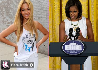 Beyonce Knowles Records Admiration for Michelle Obama » Gossip | Beyonce Knowles | Michelle Obama