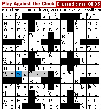 U.S Constitution Crossword Puzzles Basic 1 Answers