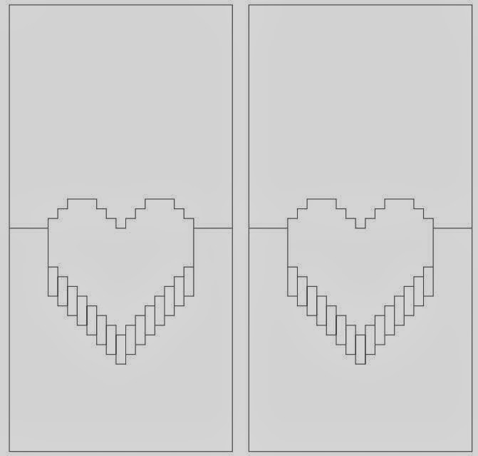 Pop-Up Heart Card Template