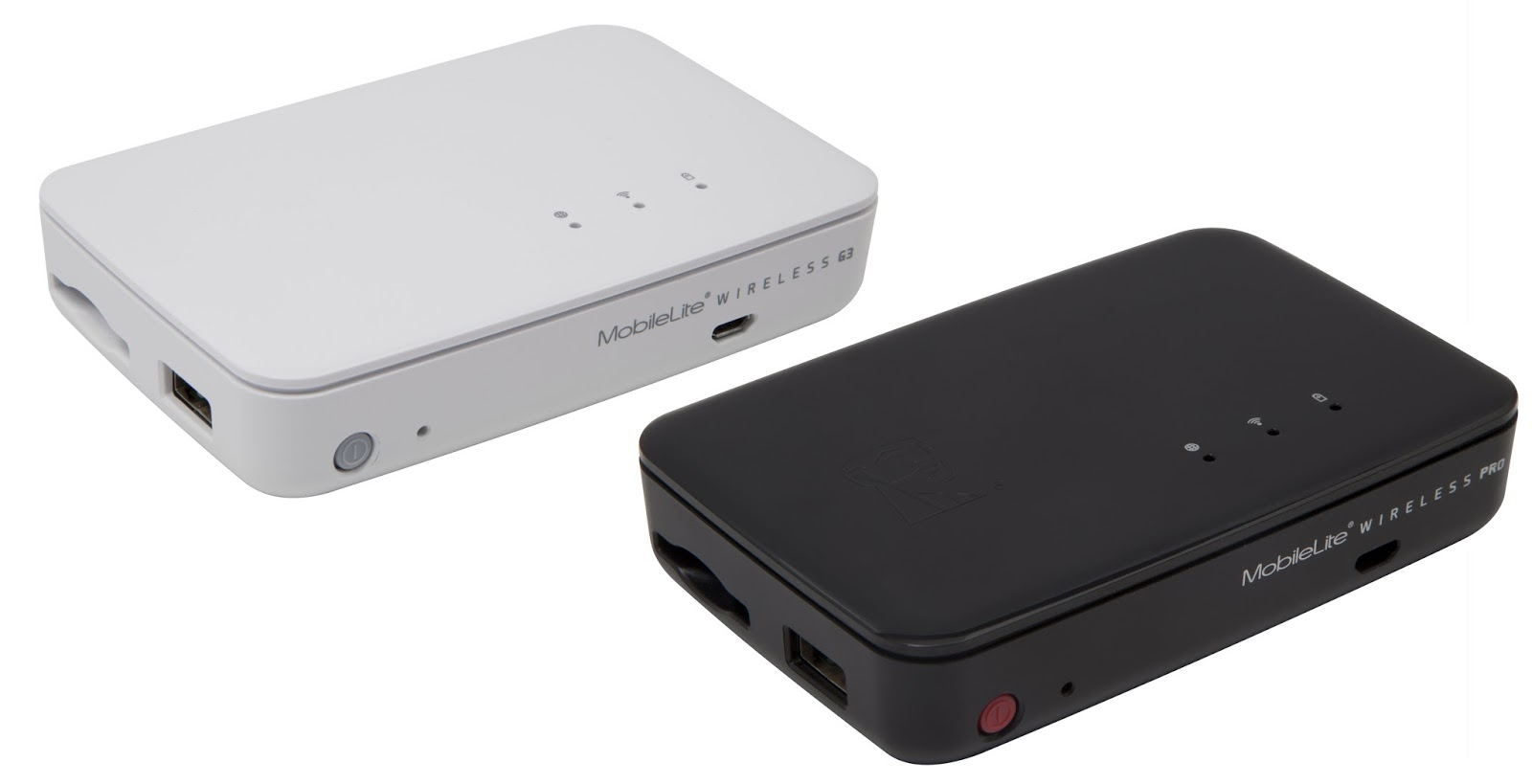 Kingston MobileLite Wireless G3 and MobileLite Wireless Pro