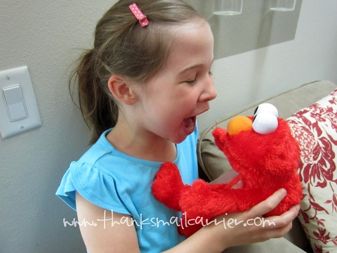 LOL Elmo laughing