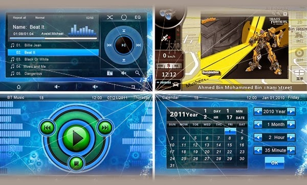 Audio Mobil Toyota Rush: GPS | Bluetooth | ipod | PIP | Games | Dual Zone