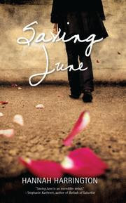 Review of Saving June by Hannah Harrington published by Harlequin Teen