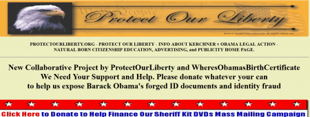 Birther Report Protect Our Liberty WOBC