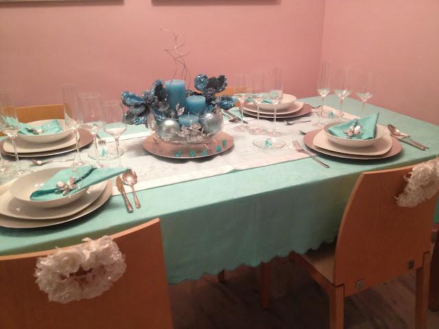 Como hacer una mesa de navidad original virginia esber - Preparar mesa navidad ...