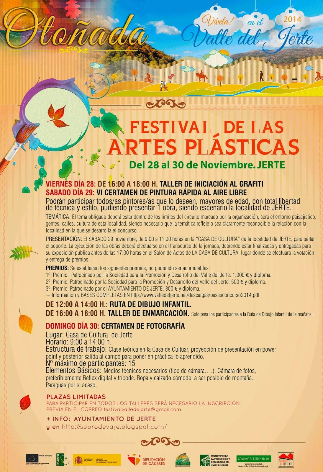 FESTIVAL DE ARTES PLÁSTICAS (Jerte)