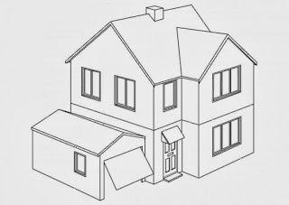 Malvorlagen Haus Kostenlos - Ausmalbilder Häuser - Malvorlagen Kostenlos zum
