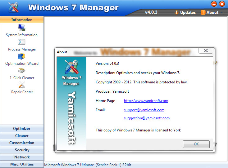 Windows 7 manager 4 0 5 final portable lexbtethigh for Windows 7 portable
