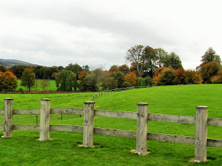 Wooden Fence at Russborough House