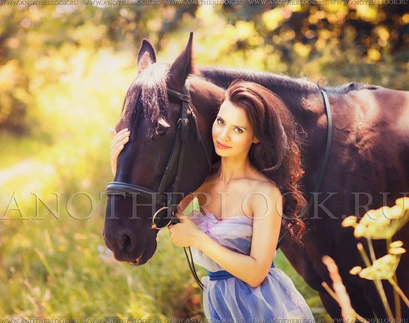 съемка с лошадью