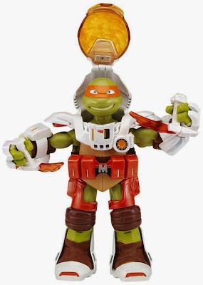 JUGUETES - LAS TORTUGAS NINJA : Teenage Mutant Ninja Turtles TMNT Dimension X - Michelangelo   Figura - Muñeco Toys   Producto Oficial Serie Televisión   91232   A partir de 4 años