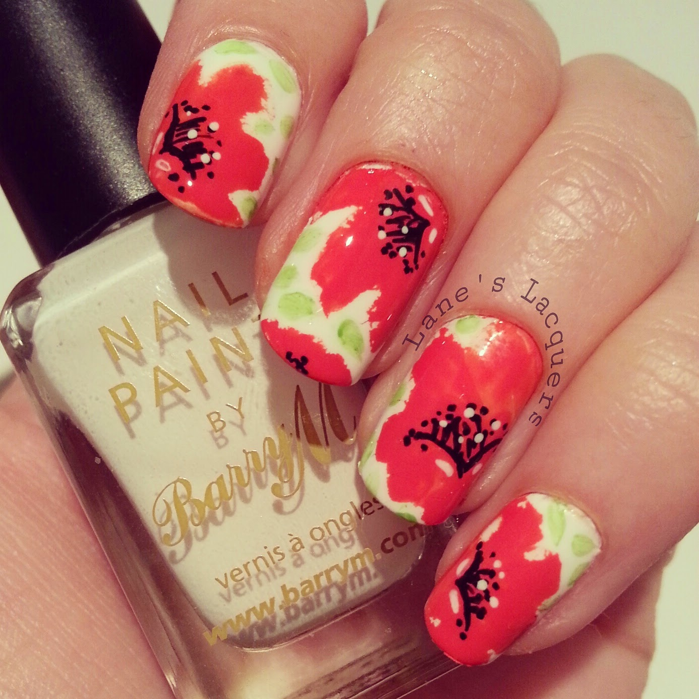 barry-m-rememberance-sunday-poppy-nail-art