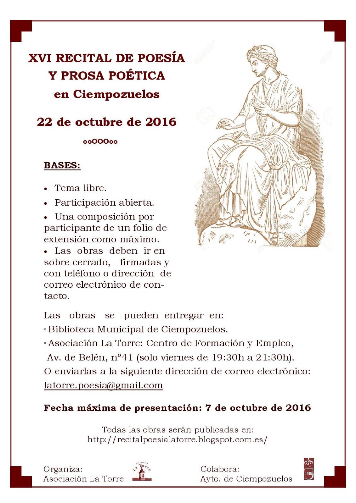 XVI Recital de Poesía y Prosa poética