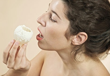 Fungi About To Be Consumed By Woman