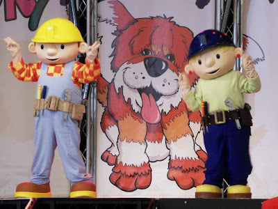 Bob the Builder on stage