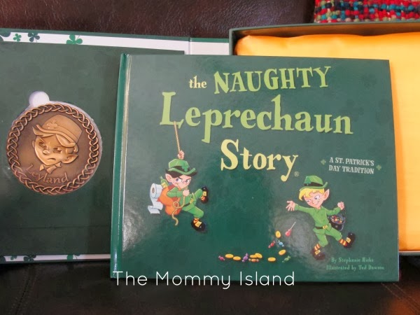 Book : The Naughty Leprechaun Story