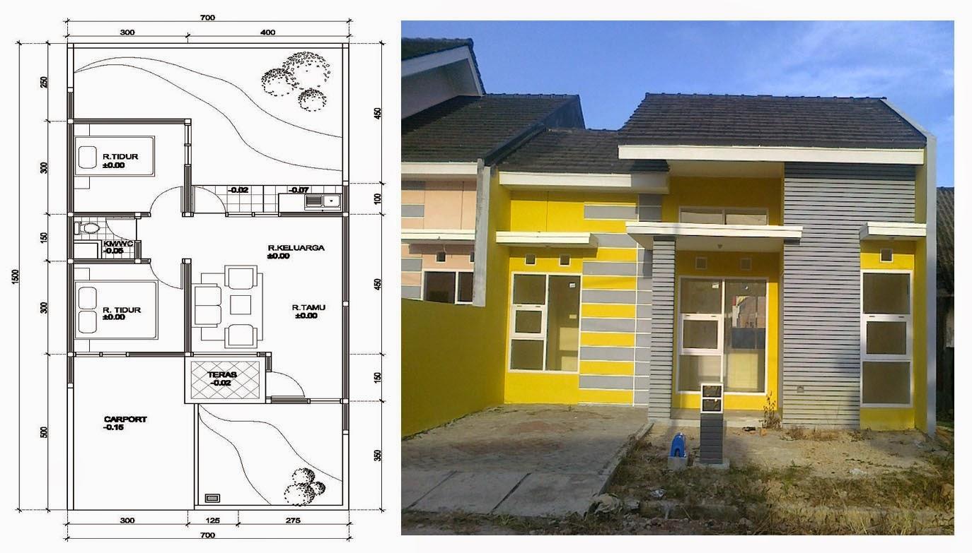 106 Denah Rumah Minimalis Mungil Gambar Desain Rumah Minimalis