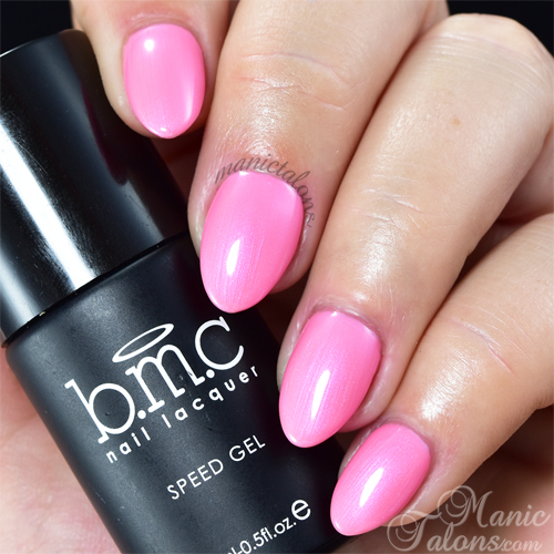 BMC Speed Gel Pink Wednesdays Swatch