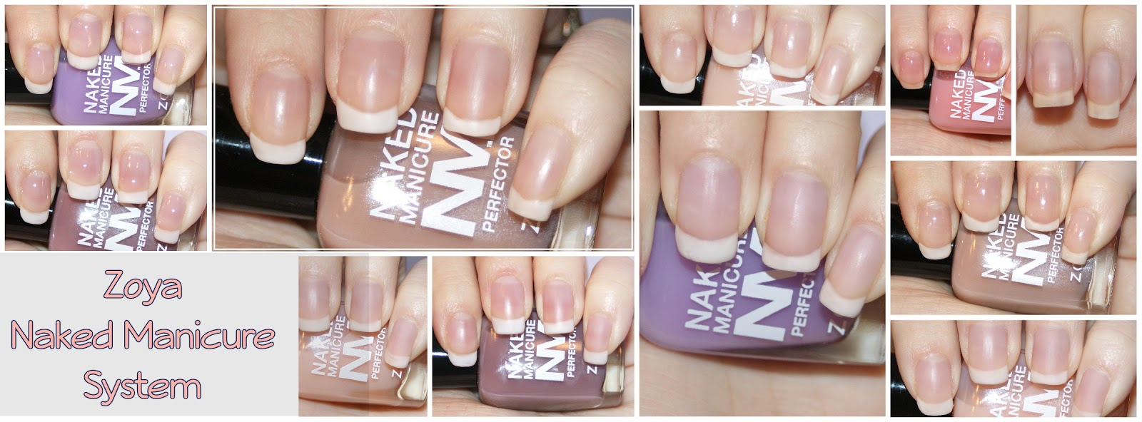 Princess Polish: Swatch and Review: Zoya Naked Manicure System