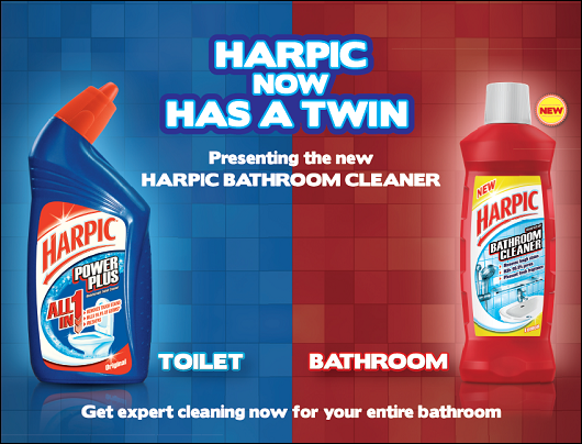 RB INDIA LAUNCHED NEW HARPIC BATHROOM CLEANER IN INDIA DAILY NEWS