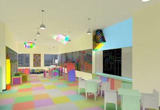 Kids Playroom at The Columns Makati