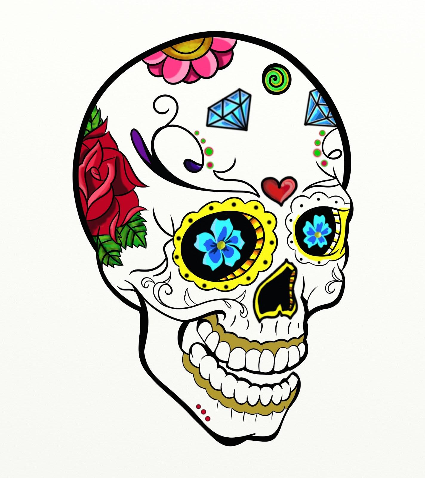 The gallery for --> Calaveras Mexicanas Para Colorear