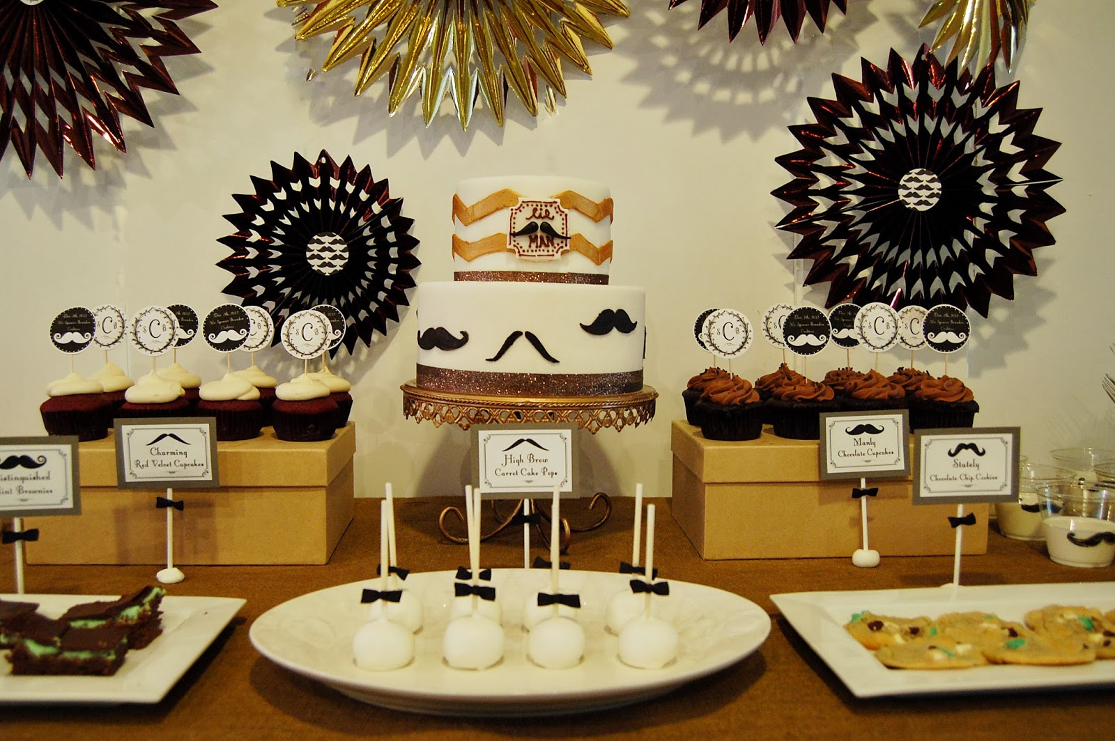 Milk Mustache Themed Baby Shower With FREE PRINTABLES!!