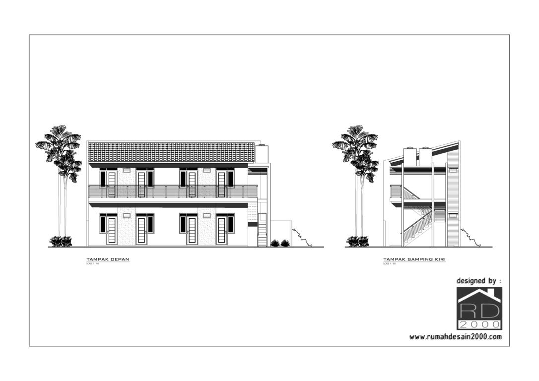 gambar desain rumah kost minimalis gratis rumah desain