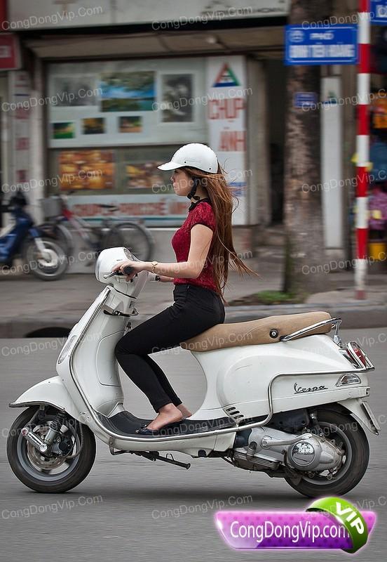 Awek Vietnam Suka Naik Vespa (Gambar) | REALITI INSAN