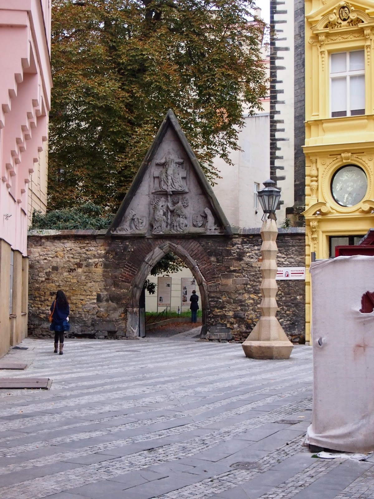 A hidden church in Prague