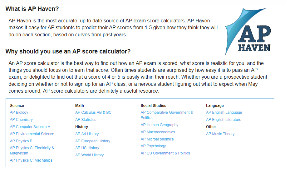 ap world history exam score calculator